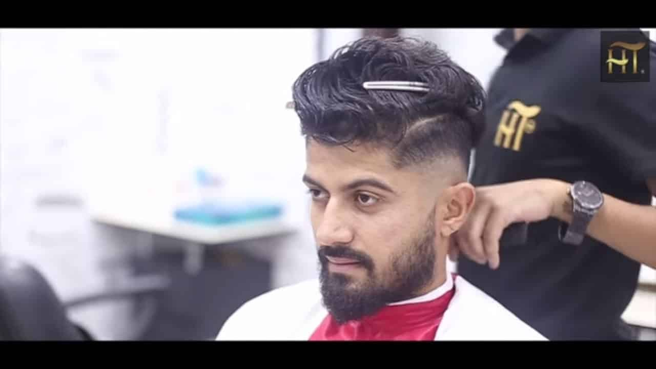 BIG VOLUME QUIFF - Mens Haircut & Hairstyle Trend 2018 Tutorial 12