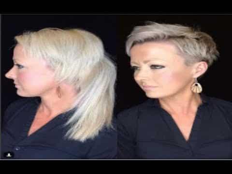 creative women's short pixie haircut 14