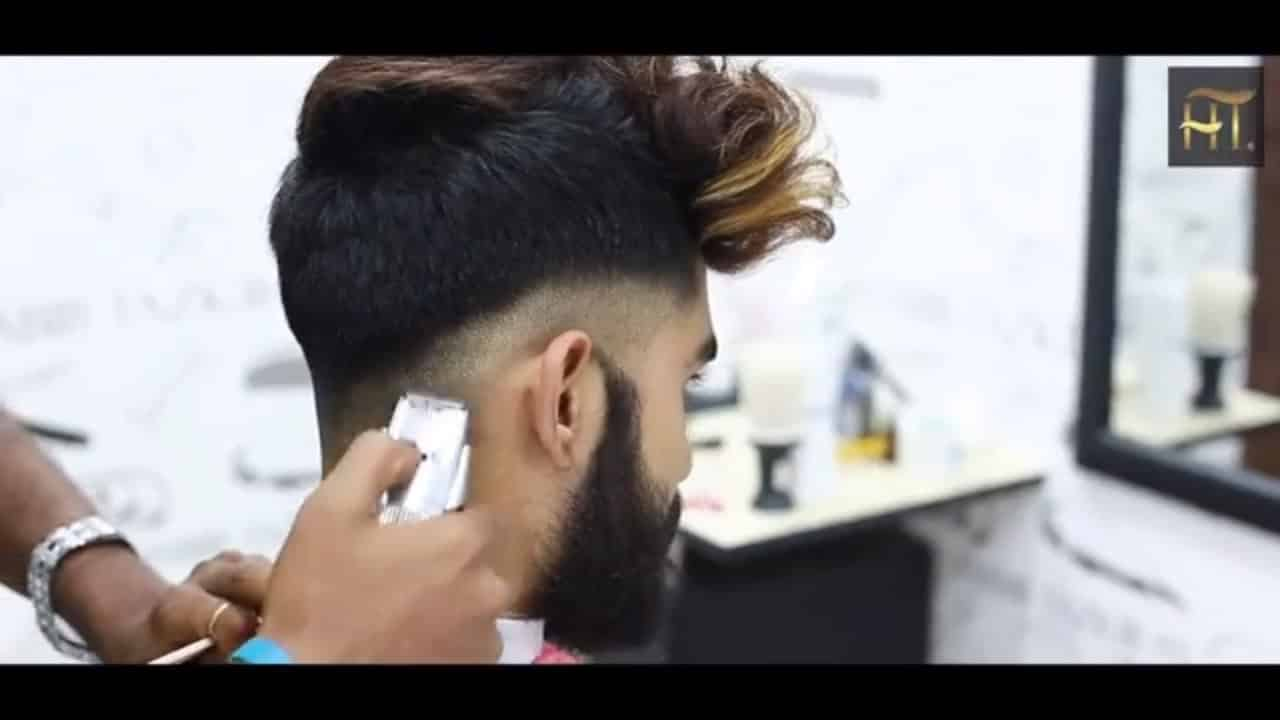 Haircut Transformation Tutorial I Undercut Easy Hairstyle For men 13