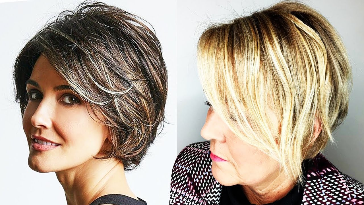 Haircuts for Older Women 2018 - 2019 | Haircuts and Hairstyles for Women Over 40, 50 to 60 & More 12