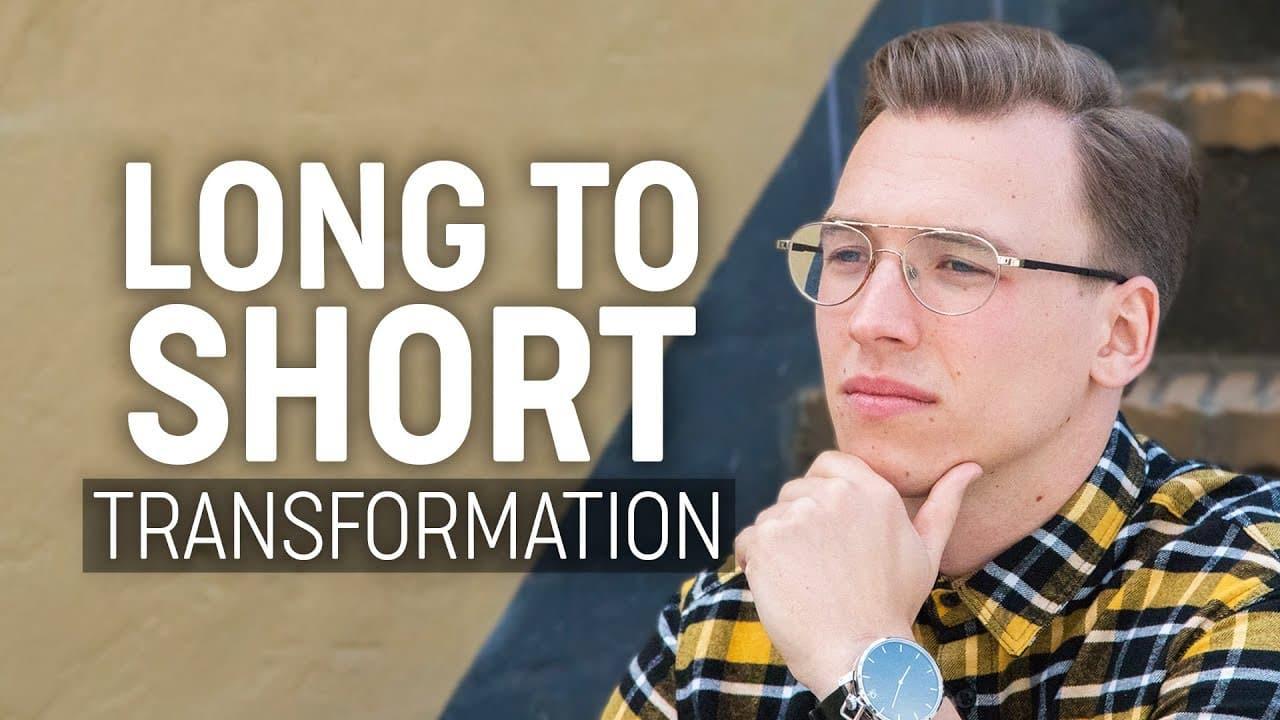 Long to Short Hairstyle | Men's Hair Transformation 2018 12