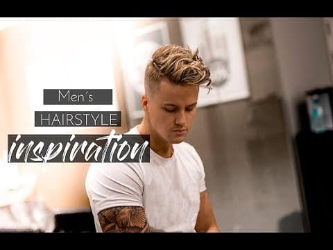 Men´s Hairstyle inspiration 2018 | Messy Beach Waves Hair Tutorial #New 2018 15