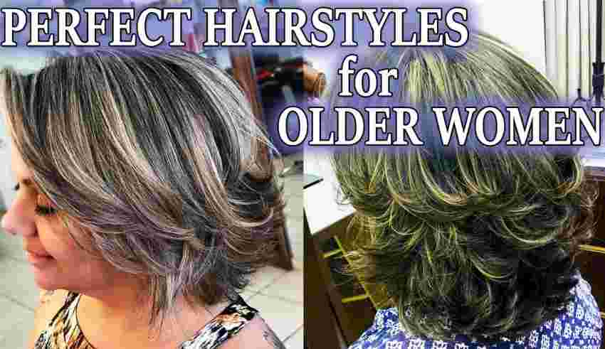 Perfect Hairstyles For Older Women