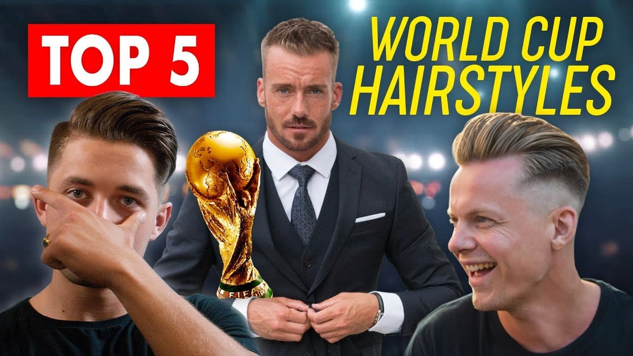 Top 5 World Cup Hairstyles | Men's Hair Inspiration | SlikhaarTV 14