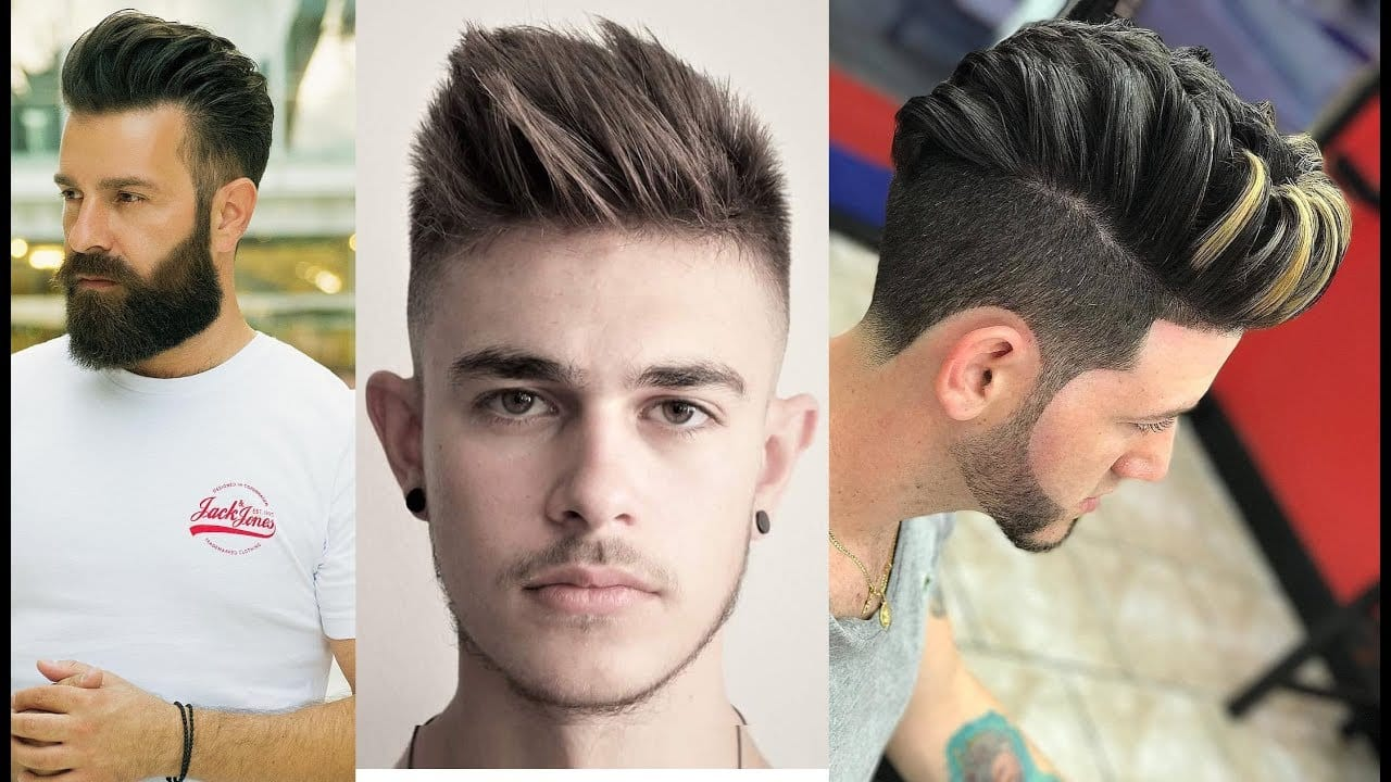 Cool Signature of New Hairstyles for Men's 2018 1