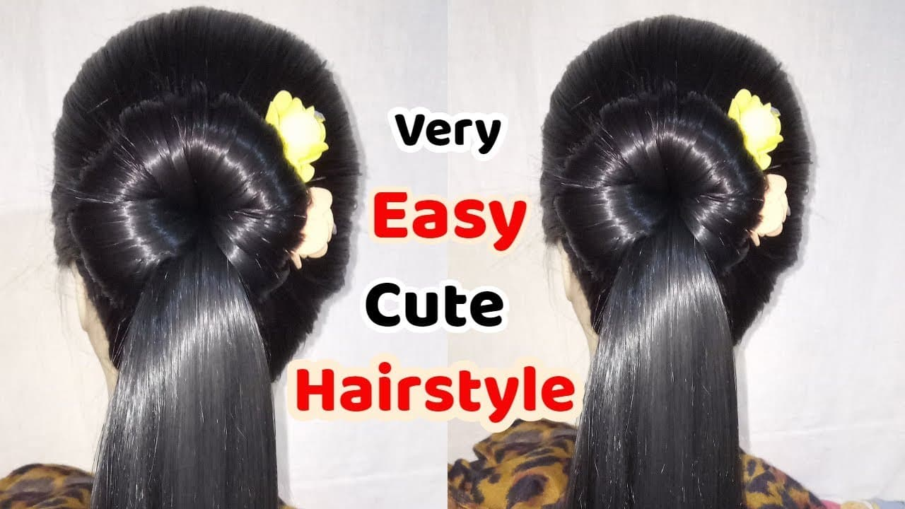 Hairstyles for girls || new hairstyle || Easy Hairstyles || Cute Haisrtyles || Hairstyle 6