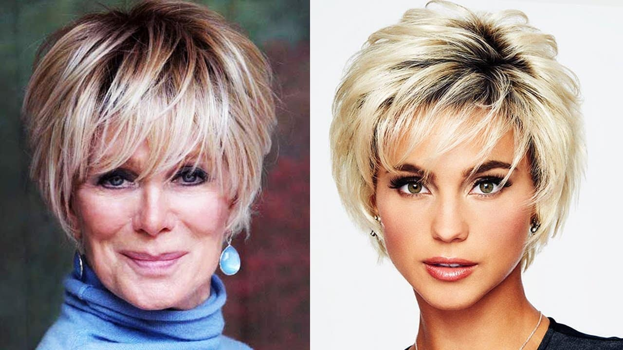 HAIR CUTS FOR WOMEN OVER 50 To 60 YEARS OLD