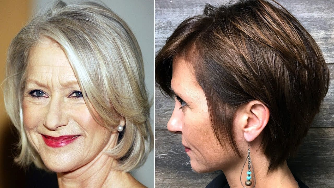 Haircuts for Women Over 50, 55, 60 - New Hair for Older Women (Older Women Haircuts Styles) 11