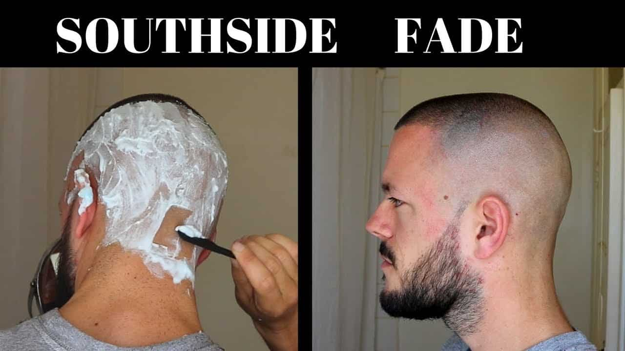 How To Do A SOUTHSIDE FADE - Men's SELF Haircut Tutorial 12
