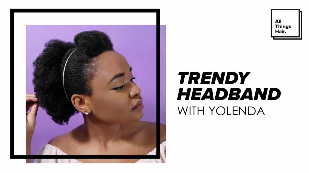 Trendy Headband Hairstyle 12