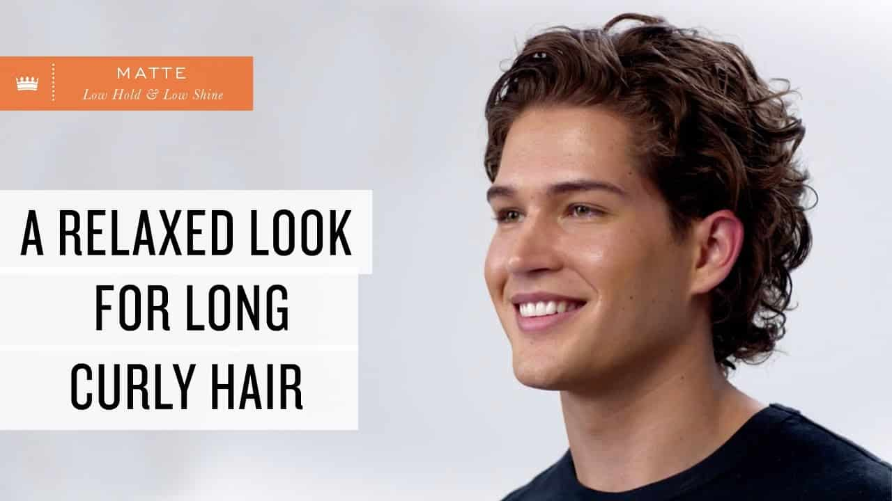 A Relaxed Look for Long, Wavy Hair | Men's Hairstyle 6