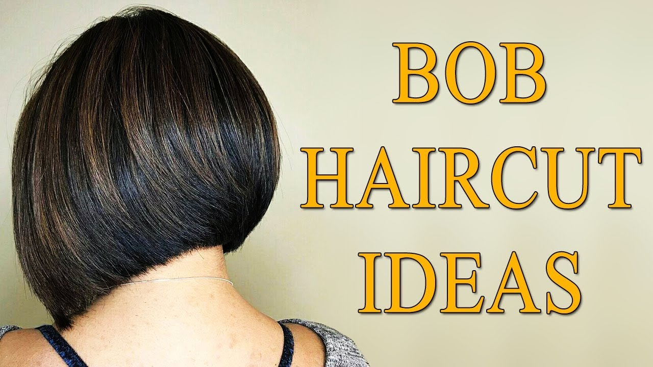 Graduated Bob Hairstyles and Bob Haircut Ideas for Women - Graduated Bob Haircuts 2018 Back View 11