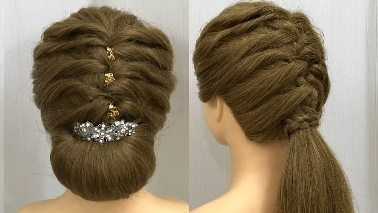 Hairstyles for Medium, Long Hair : Easy Party Hairstyles 3