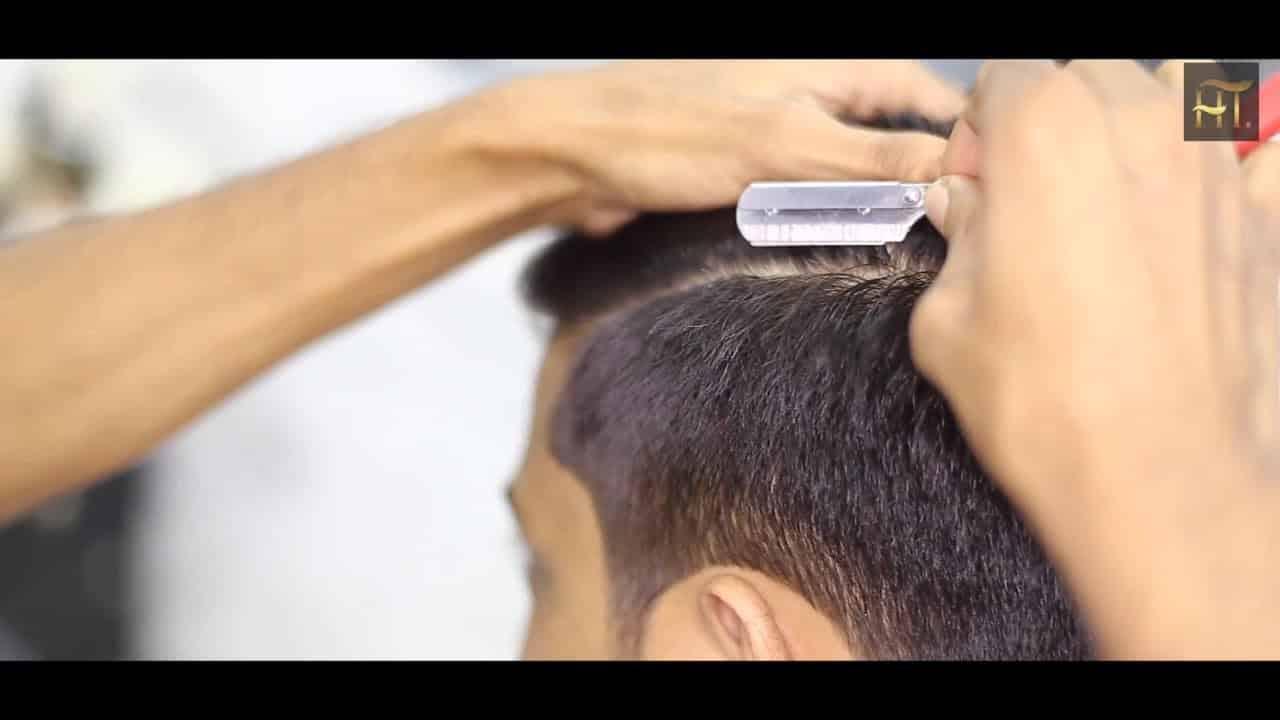 HOW TO STYLE HAIR I Haircut Tutorial UAE DUBAI 2018 2