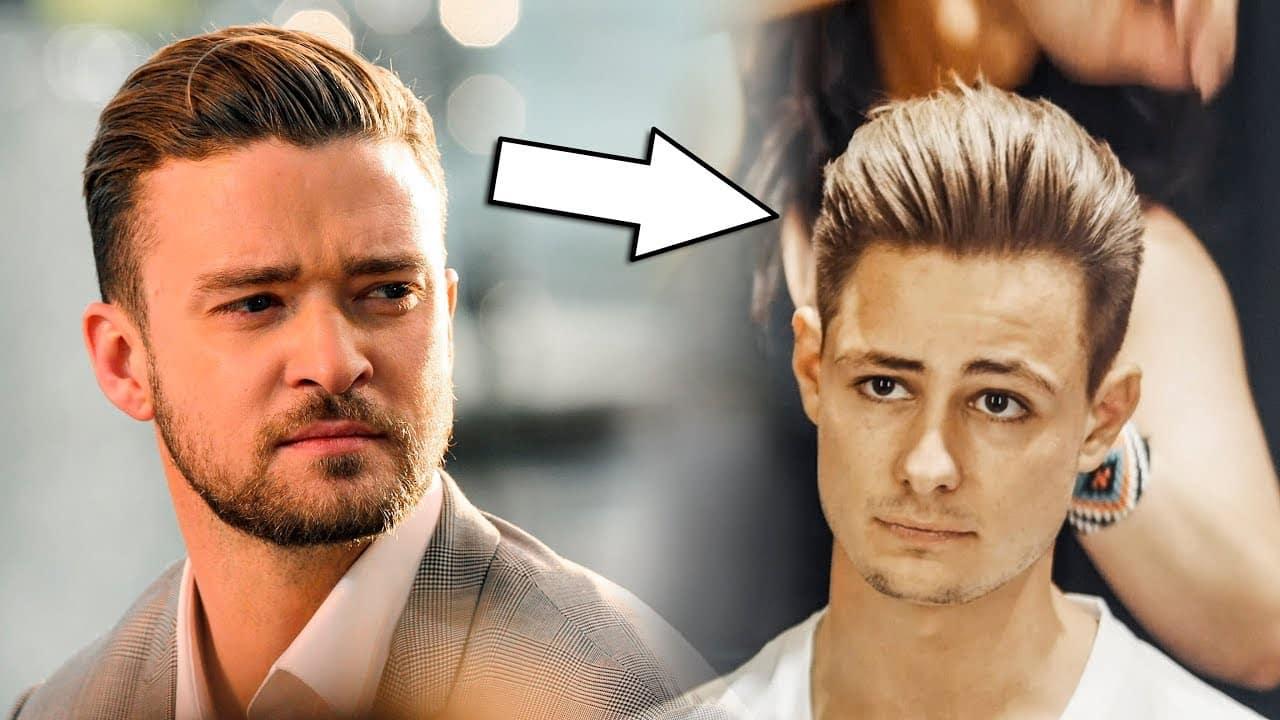 Justin Timberlake Classic Haircut & Hairstyle 2018 | Mens Hair Inspiration | BluMaan 4