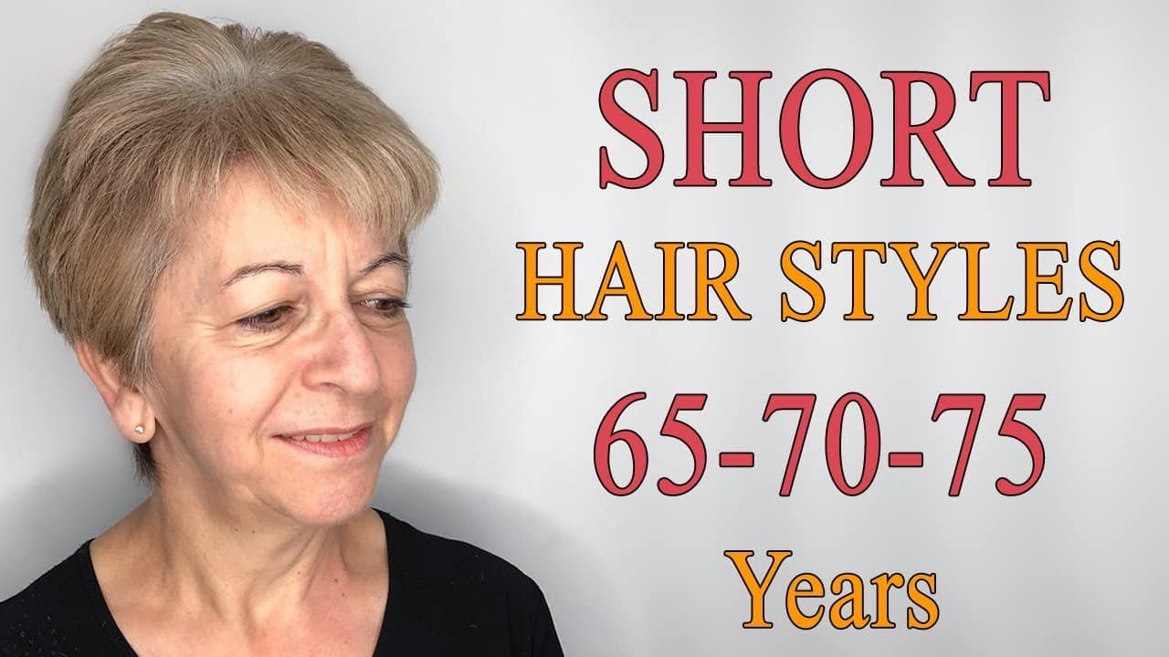 SHORT HAIRSTYLES FOR WOMEN OVER 65-70-75 | SHORT HAIRCUTS FOR OLDER WOMEN WITH FINE & THIN HAIR 10