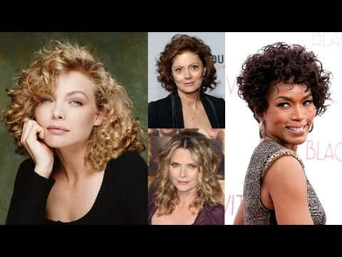 Trendy Curly & Wavy Haircuts for Older Women: Short, Medium and Long Length Hair 2