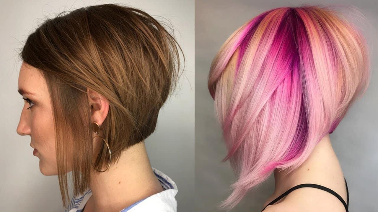 Trendy Layered Bob Hairstyles - Layered Bob Haircuts for Short Hair Women 1