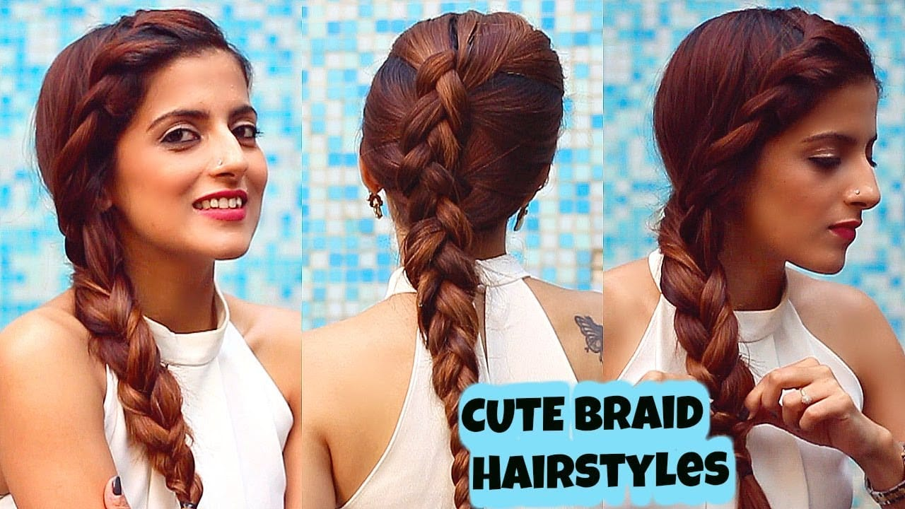 2 Everyday CUTE Braid Hairstyles For Medium To Long Hair/ Quick & Easy / Knot Me Pretty 12