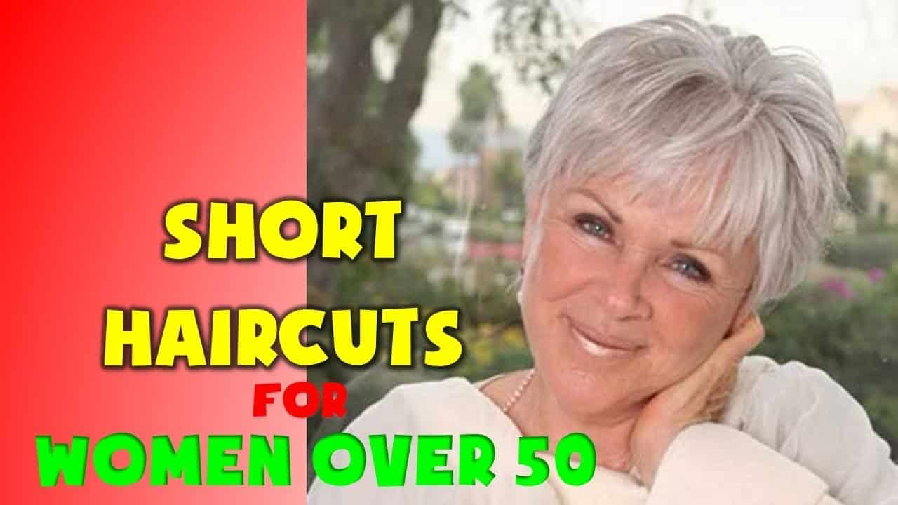 30+ BEST Short Haircuts for Women Over 50 3