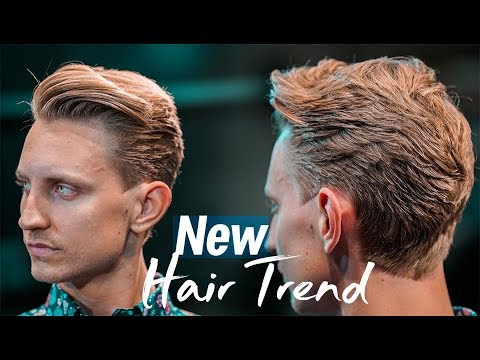 Men`s new hair trends for 2019 . Hairstyle inspiration 2