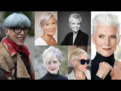Pixie haircut ideas & Short hairstyles for older women over 50 11