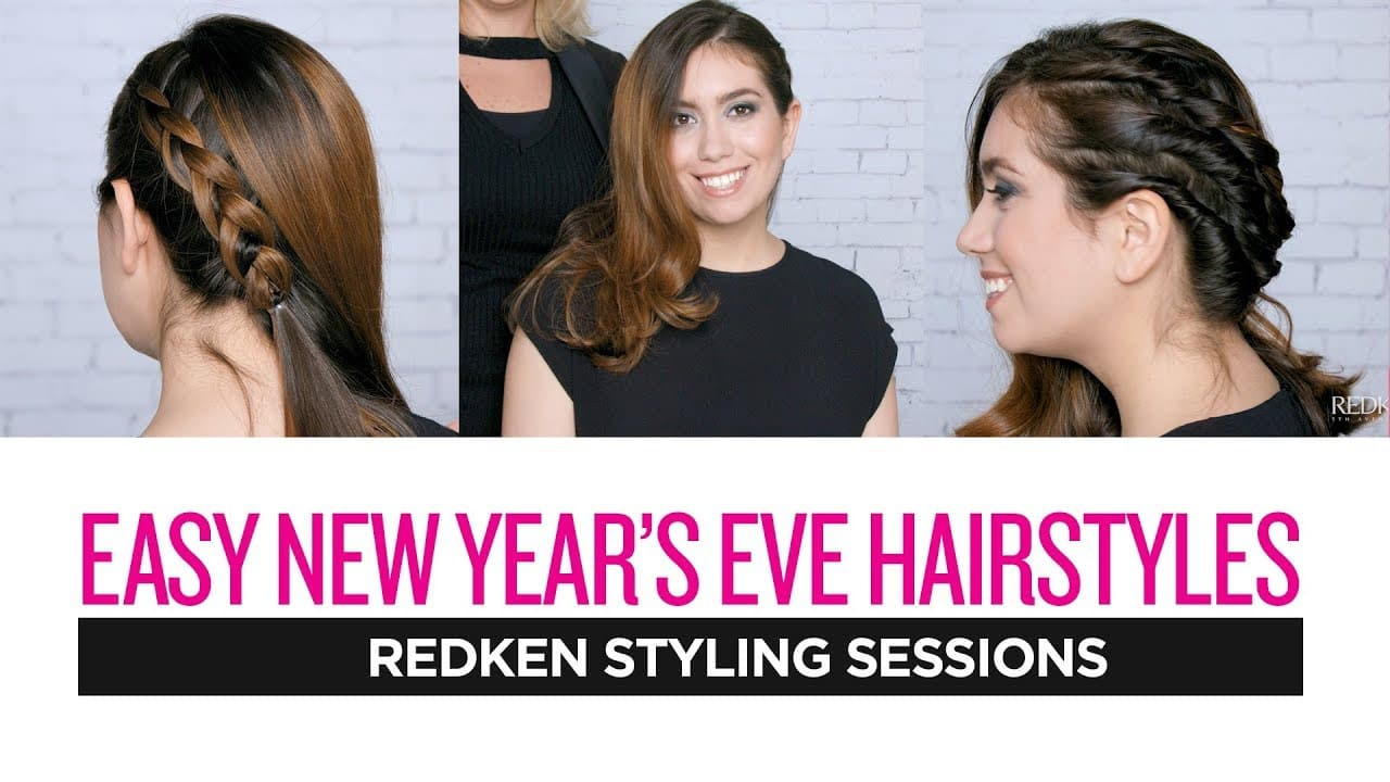 Redken Styling Sessions: Easy New Year's Eve Hairstyles 11