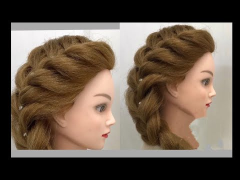 Side French Braid : Easy Hairstyles 6