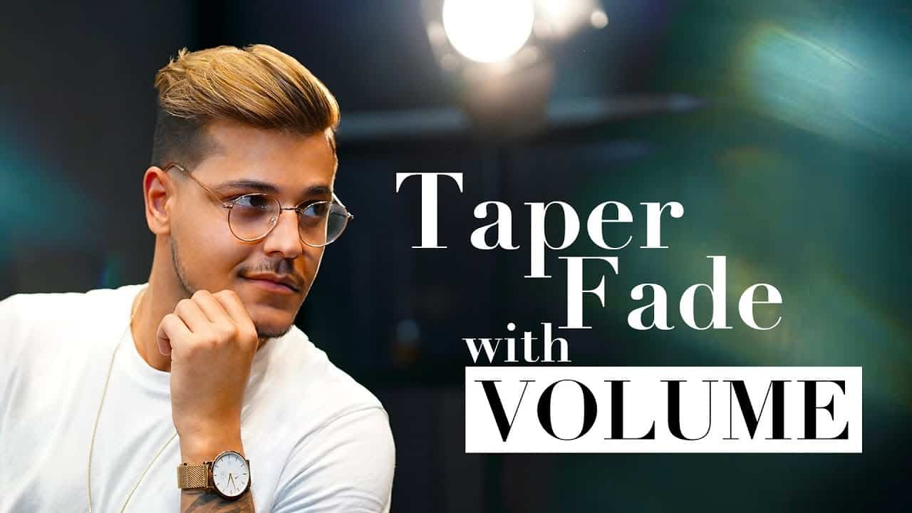 Taper Fade with VOLUME. Men´s hairstyle inspiration 2018 9