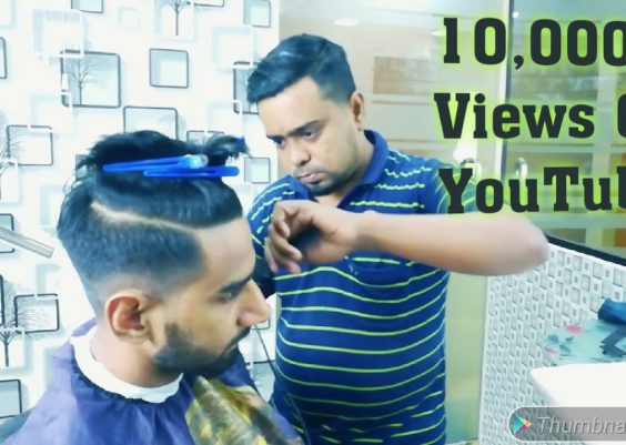 Bangladeshi Men's Best Haircut | Pompadour Hairstyle 2018 4