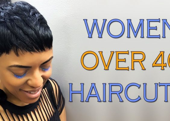 Inspirational Short Haircuts for Black Women Over 40 - Women Over 40 Haircuts for Short Pixie Hair 14