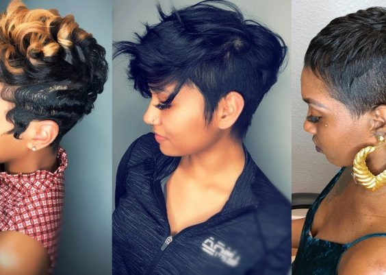 Short Haircuts and Hairstyles in 2019 for Black Women - Short Hairstyles 2019 Black Women 15