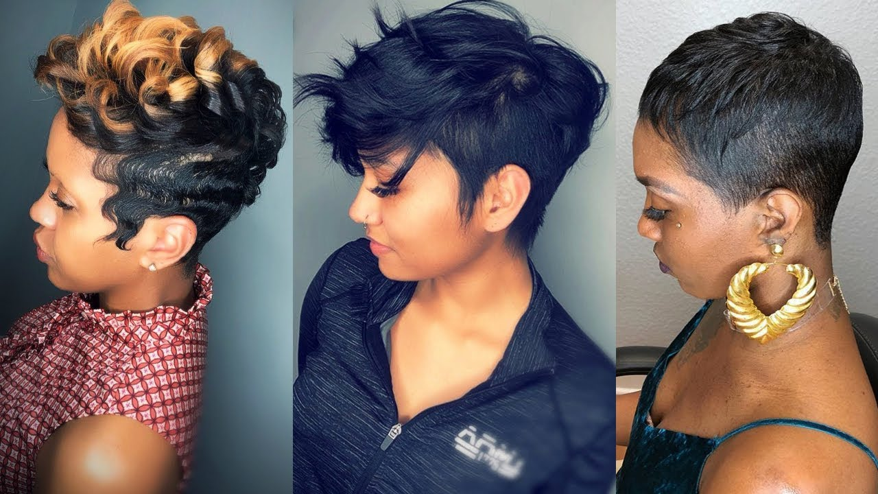 Short Haircuts and Hairstyles in 2019 for Black Women ...