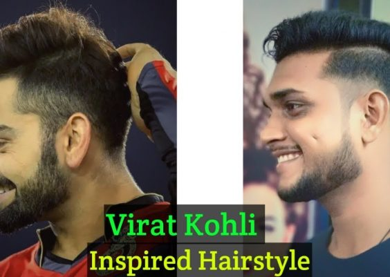 Virat Kohli Hairstyle Inspired Haircut 2018 - Men's Hairstyles & Haircut - Indian men Hairstyle .#85 12