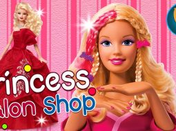 Barbie Dolls Hairstyles Color Transformation Salon - Hairstyles for barbie Dolls 11