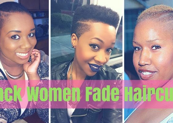 Fade Haircuts for Black Females 2018 - Black Women Fade Haircuts 14