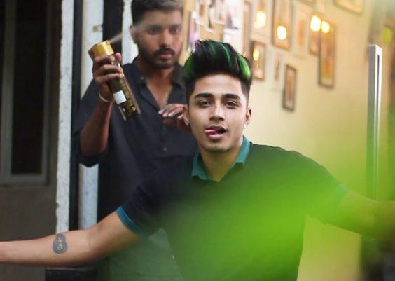 Highlight, Hair cut and Keratin treatment for men pt 2| Bharat Sharma 10