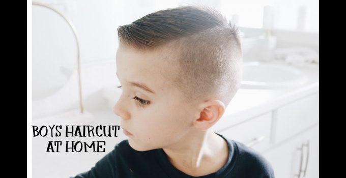 HOW TO CUT BOYS HAIR AT HOME | HAIRCUT TUTORIAL | 1