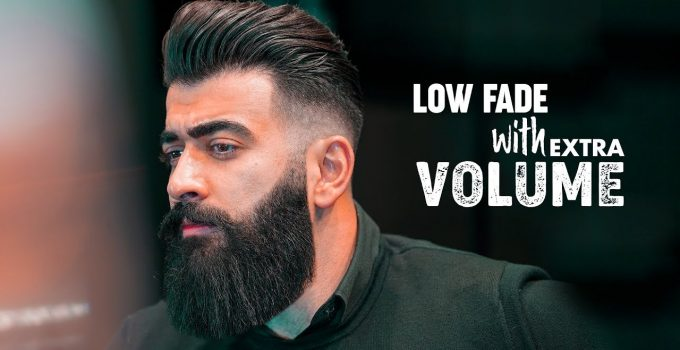 Low fade & Slicked back with Volume. Men´s hairstyle inspiration 2019 6