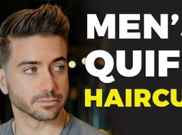 MEN'S QUIFF HAIRCUT & HAIRSTYLE 2019 | Alex Costa ft. Daniel Alfonso 15