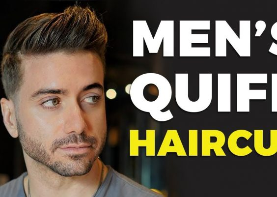 MEN'S QUIFF HAIRCUT & HAIRSTYLE 2019 | Alex Costa ft. Daniel Alfonso 13