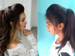 The Perfect High Ponytail with Puff | Messy Ponytail | No Teasing, No Hairspray | Indian Hairstyles 5