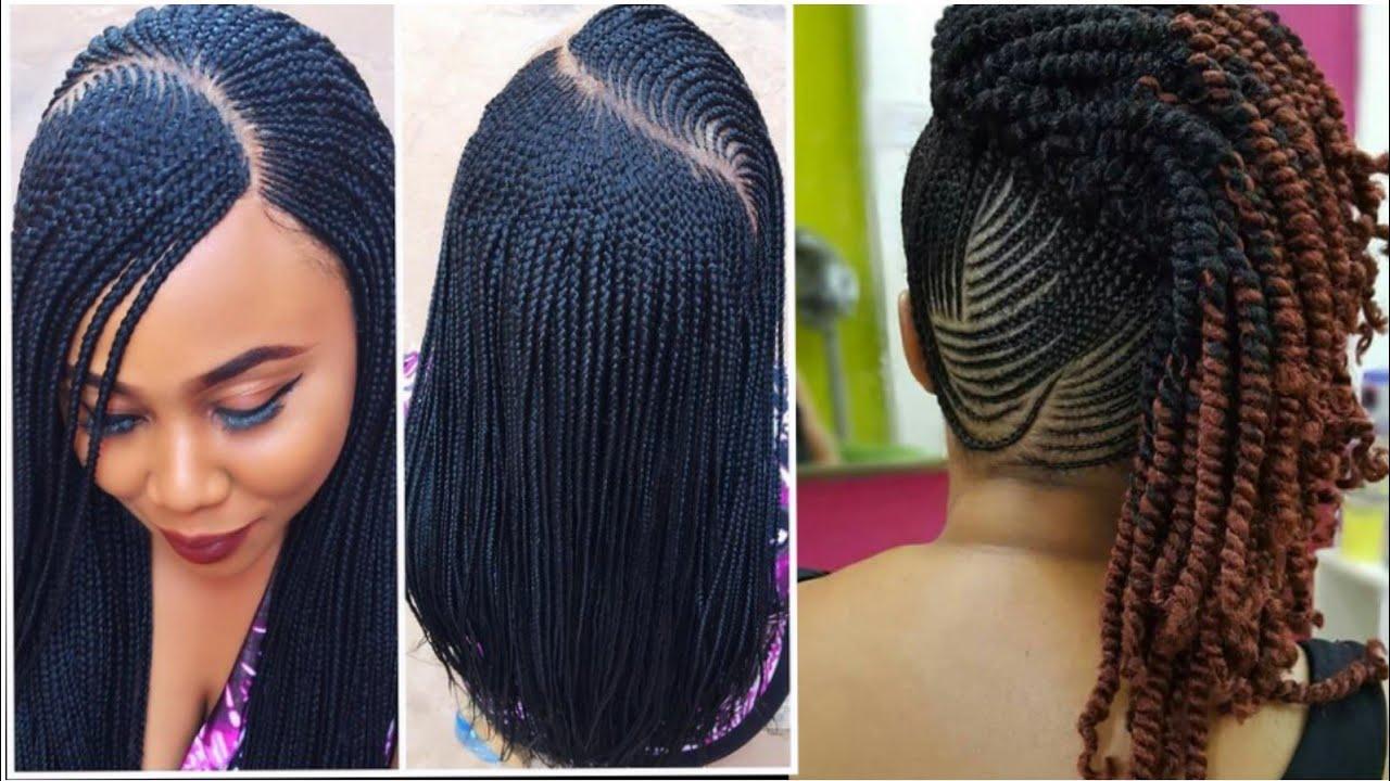 Totally Gorgeous Ghana Braids Hairstyles 2018 2019
