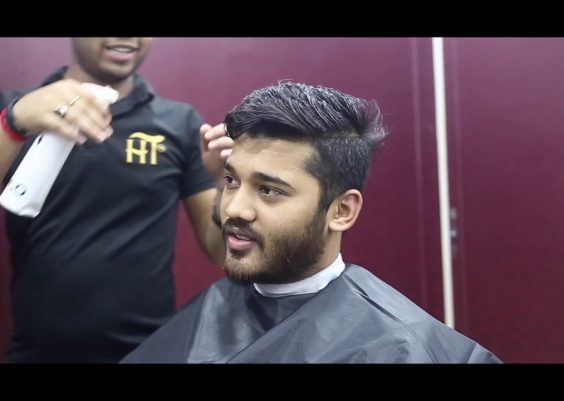 Haircut Transformation and Easy Hairstyle For men 11
