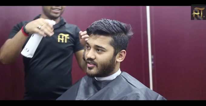 Haircut Transformation and Easy Hairstyle For men 8