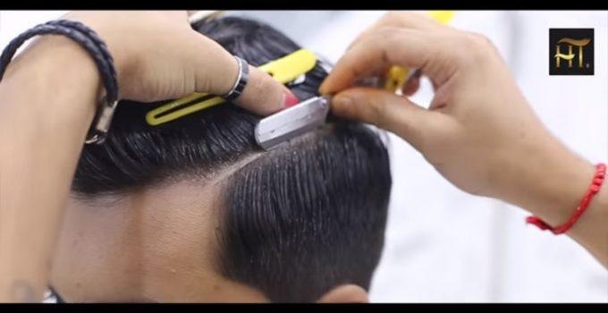 Haircut Transformation Tutorial I Mens Short Messy Quiff Hairstyle 8