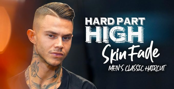 High fade. Hard part. Men´s hairstyle inspiration 4