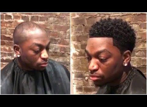 Man Weave Transformation #9 | Cut By Cimaje Studio | Afro Haircut 2