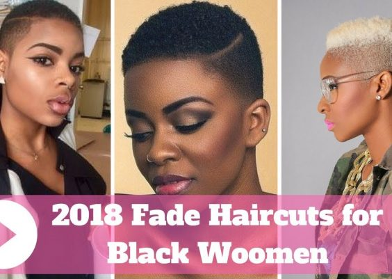 2018 Fade Haircuts for Black Ladies - Black Women Fade Haircuts 15