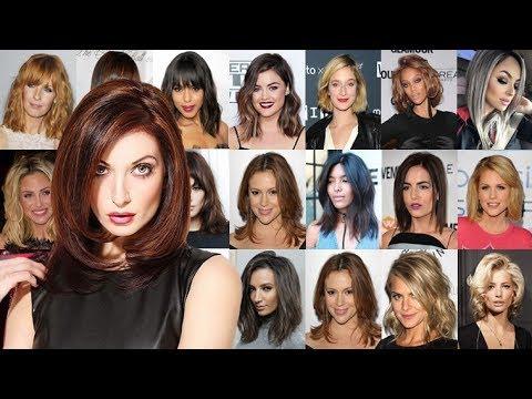 2018 Hairstyles For Medium Hair Shoulder Length Hair Cut